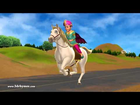Chal Chal Gurram - 3D Animation Telugu Nursery rhymes for children with lyrics