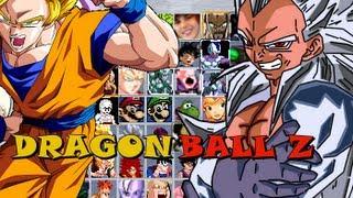 getlinkyoutube.com-Dragon Ball Z Mugen - MEIA HORA