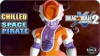 getlinkyoutube.com-Space Pirate Chilled VS Bardock - Dragon Ball Xenoverse 2 mod