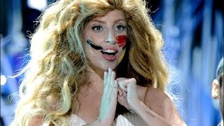 getlinkyoutube.com-Lady Gaga - Applause (live) VMA's 2013 ᴴᴰ