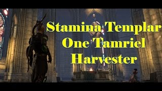 getlinkyoutube.com-Stamina Templar DPS for One Tamriel [The Harvester]