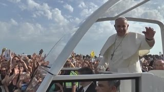 Caserta - Papa Francesco: