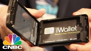 iWallet: The Secure, Smart Wallet | CES 2015 | CNBC