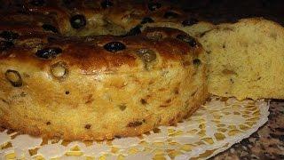getlinkyoutube.com-♥خبز بالزيتون والزعتر هش ولذيذ | شهيوات سعاد♥