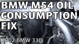 getlinkyoutube.com-BMW E46/E39 M54 Engine Oil Consumption Fix (02Pilot Mod)