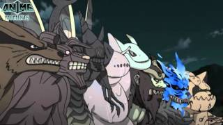 getlinkyoutube.com-Ten Tails vs Nine Tailed Beasts - Naruto Shippuuden
