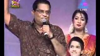 getlinkyoutube.com-Jagathy blasting Renjini nd star singer  judges.wmv
