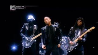 getlinkyoutube.com-Daft Punk ft. Pharrell Williams - Get Lucky (Official MTV Video)