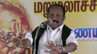 Vaiko Quits Makkal Nala Kootani - No MNK Leaders Stood By Me When I Was Attacked By DMK Men