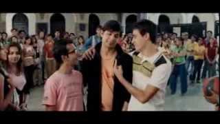 """getlinkyoutube.com-Fighting scene of padam bhola in Aamir khan's """"jaane tu ya jaane na """".."""