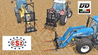 getlinkyoutube.com-Farming Simulator 15 CSZ Bale Fork Set