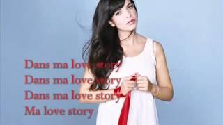 getlinkyoutube.com-Indila  Love Story ♪ Lyrics