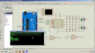 Motor Shield Demo using Simulino Uno and ISIS Proteus 7.9