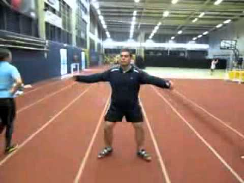 Discus Throw Steps