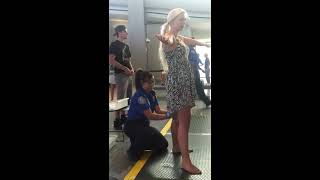 getlinkyoutube.com-TSA pat down Sacramento international airport