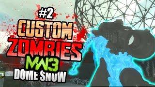 "getlinkyoutube.com-INTERVENTION PAP'D!! - Custom Zombies ""DOME SNOW"" |  Part 2 (Finale)"