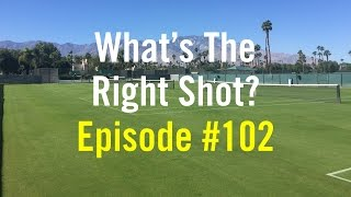 "getlinkyoutube.com-Tennis Doubles Strategy - ""What's The Right Shot?"" #102"