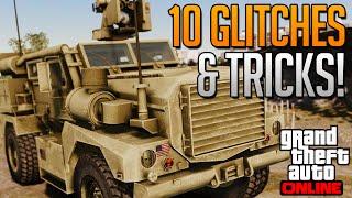 getlinkyoutube.com-GTA 5 Online - 10 Glitches & Tricks Online! (Flying, Invincible, Car Destruction Glitch & More)