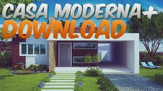 getlinkyoutube.com-Minecraft mapas - Casa moderna (EPICO!) + Download