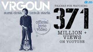 Virgoun - Surat Cinta Untuk Starla (Official Lyric Video)