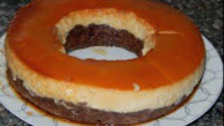 كيكة قدرة قادر بطريقة سهلة و ناجحة / كيكة كريم كراميل /  الكيكة السحرية / مع طبخ ليلى cake magique
