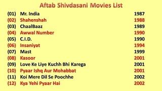 Aftab Shivdasani Movies List
