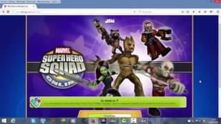 getlinkyoutube.com-Marvel Super Heroes Squad Online - Hack Fractals , EXP et Code Unbann (FR)