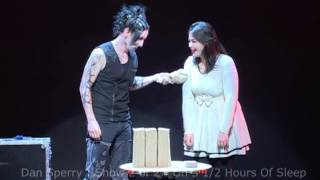 craziest chick ever on stage with Shock Illusionist Dan Sperry : Anti-Conjuror
