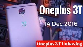 getlinkyoutube.com-Oneplus 3T India Unboxing & First Look | Sharmaji Technical