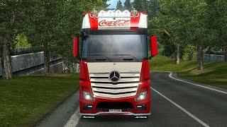 getlinkyoutube.com-Ets2 - Mercedes Actros Coca Cola - Combo Pack