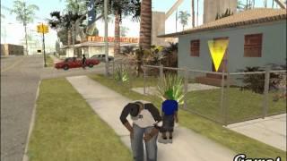 getlinkyoutube.com-Cj tiene una familia - Gta San Andreas Loquendo