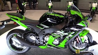 getlinkyoutube.com-2016 Kawasaki Ninja ZX-10R KRT Edition - Walkaround - Debut at 2015 AIMExpo Orlando