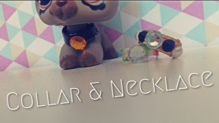 getlinkyoutube.com-DIY Lps Necklace and Collar