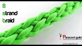getlinkyoutube.com-8 strand round braid