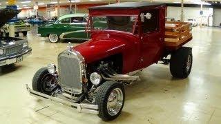 getlinkyoutube.com-1929 Ford Hot Rod Pickup 302 V8 4 BBL