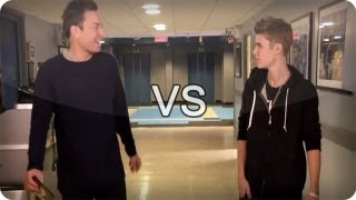 getlinkyoutube.com-Jimmy Fallon vs Justin Bieber (Late Night With Jimmy Fallon)