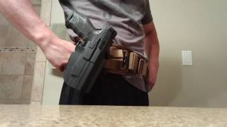 getlinkyoutube.com-Review: Safariland 578 GLS Holster, MLS, and HDA Kit