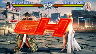 Tekken 7 Azmeer(Kazumi) vs Mohsin Shooter(Nina) ManiaX Fighters cup s2