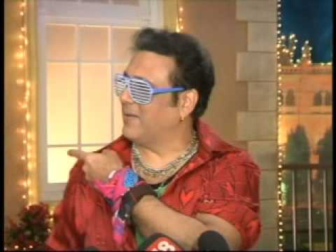 The Real Comedy King Govinda shoots promo of his TV show India's Dancing Superstar