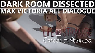 getlinkyoutube.com-Life Is Strange Episode 5 DARK ROOM MAX VICTORIA ALL DIALOGUE | Polarized