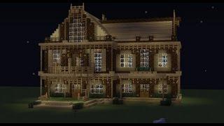 Troll Minecraft - comment faire une superbe maison rapidement ...