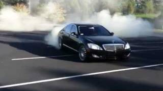 getlinkyoutube.com-2007 Mercedes S600 Burnout with Renntech & Carlsson upgrades by GMP Performance