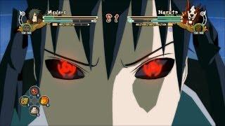 Sasuke (Madara) vs Minato (SM Naruto) - Naruto Storm 3 Full Burst (PC Mods)
