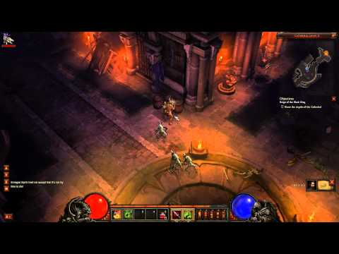 Diablo III Beta - Full Playthrough in HD (1080p) - Witch Doctor