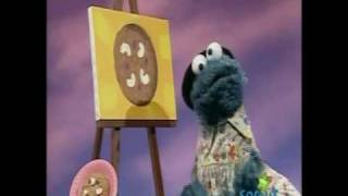 getlinkyoutube.com-Sesame Street - Cookie Monster paints