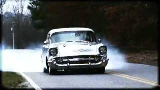 getlinkyoutube.com-57 Chevy Burnout