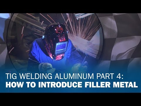TIG Welding Aluminum Basics 4: Introducing Filler Metal to the Puddle