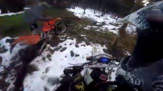 getlinkyoutube.com-Enduro Day | KTM EXC 125 525 Husqvarna WR 360 | RAW