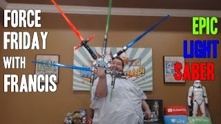 getlinkyoutube.com-FRANCIS BUILDS HIS OWN LIGHT SABER STAR WARS BLADE BUILDERS
