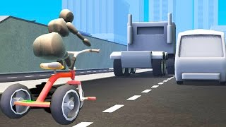 TRICYCLE ON THE HIGHWAY! (Turbo Dismount)